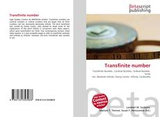 Bookcover of Transfinite number