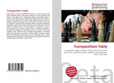 Portada del libro de Transposition Table