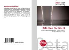 Bookcover of Reflection Coefficient