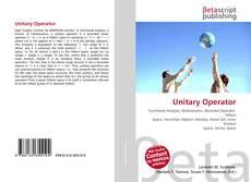 Unitary Operator kitap kapağı