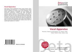 Bookcover of Vocal Apparatus
