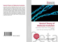 Bookcover of Neutral Theory of Molecular Evolution