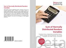 Bookcover of Sum of Normally Distributed Random Variables
