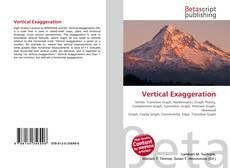 Capa do livro de Vertical Exaggeration