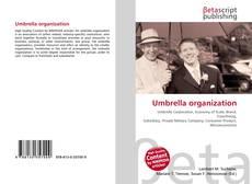 Bookcover of Umbrella organization
