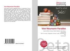 Bookcover of Von Neumann Paradox