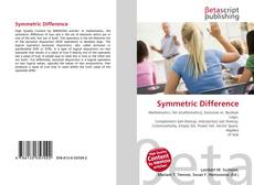 Bookcover of Symmetric Difference