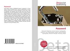 Buchcover von Password
