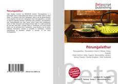 Обложка Perungalathur