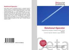 Buchcover von Relational Operator