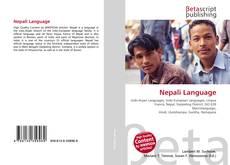Capa do livro de Nepali Language