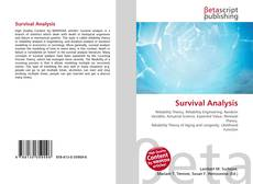Bookcover of Survival Analysis