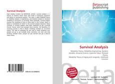 Borítókép a  Survival Analysis - hoz