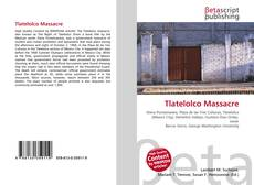 Couverture de Tlatelolco Massacre