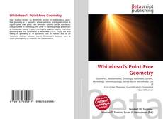 Bookcover of Whitehead's Point-Free Geometry