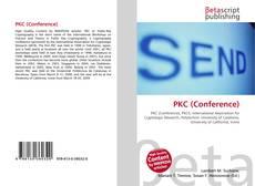 Copertina di PKC (Conference)