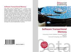 Copertina di Software Transactional Memory