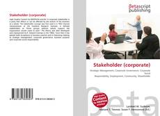 Capa do livro de Stakeholder (corporate)
