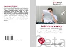 Bookcover of Watchmaker Analogy