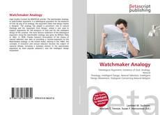 Capa do livro de Watchmaker Analogy