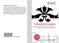 Bookcover of Probabilistic Encryption