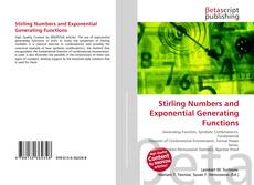 Stirling Numbers and Exponential Generating Functions kitap kapağı