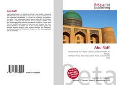 Buchcover von Abu Rafi'