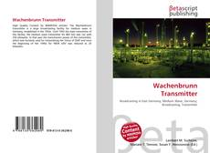 Bookcover of Wachenbrunn Transmitter