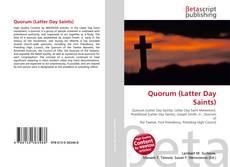 Quorum (Latter Day Saints) kitap kapağı