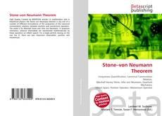 Bookcover of Stone–von Neumann Theorem
