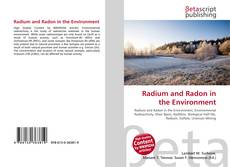 Bookcover of Radium and Radon in the Environment