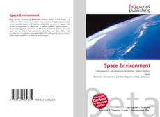 Bookcover of Space Environment