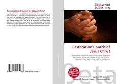 Restoration Church of Jesus Christ的封面