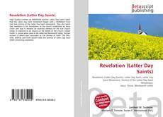 Revelation (Latter Day Saints) kitap kapağı
