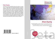 Bookcover of Zhao Ziyang