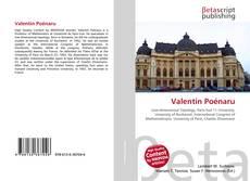 Borítókép a  Valentin Poénaru - hoz