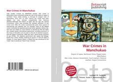 Portada del libro de War Crimes in Manchukuo