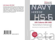 USS Cabana (DE-260) kitap kapağı