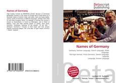 Couverture de Names of Germany