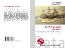 Bookcover of USS Conyngham (DD-371)