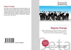 Capa do livro de Regime Change