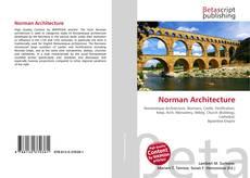 Couverture de Norman Architecture