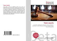 Buchcover von Teen courts