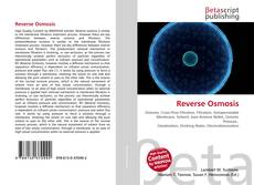 Bookcover of Reverse Osmosis