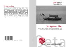 Bookcover of Vo Nguyen Giap