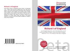 Bookcover of Richard I of England