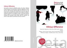 Bookcover of Vilnius Offensive