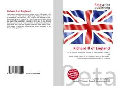 Bookcover of Richard II of England