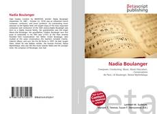 Обложка Nadia Boulanger
