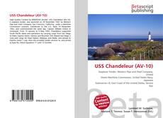 Bookcover of USS Chandeleur (AV-10)